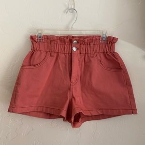 Wild Fable - Paper bag, high waist shorts